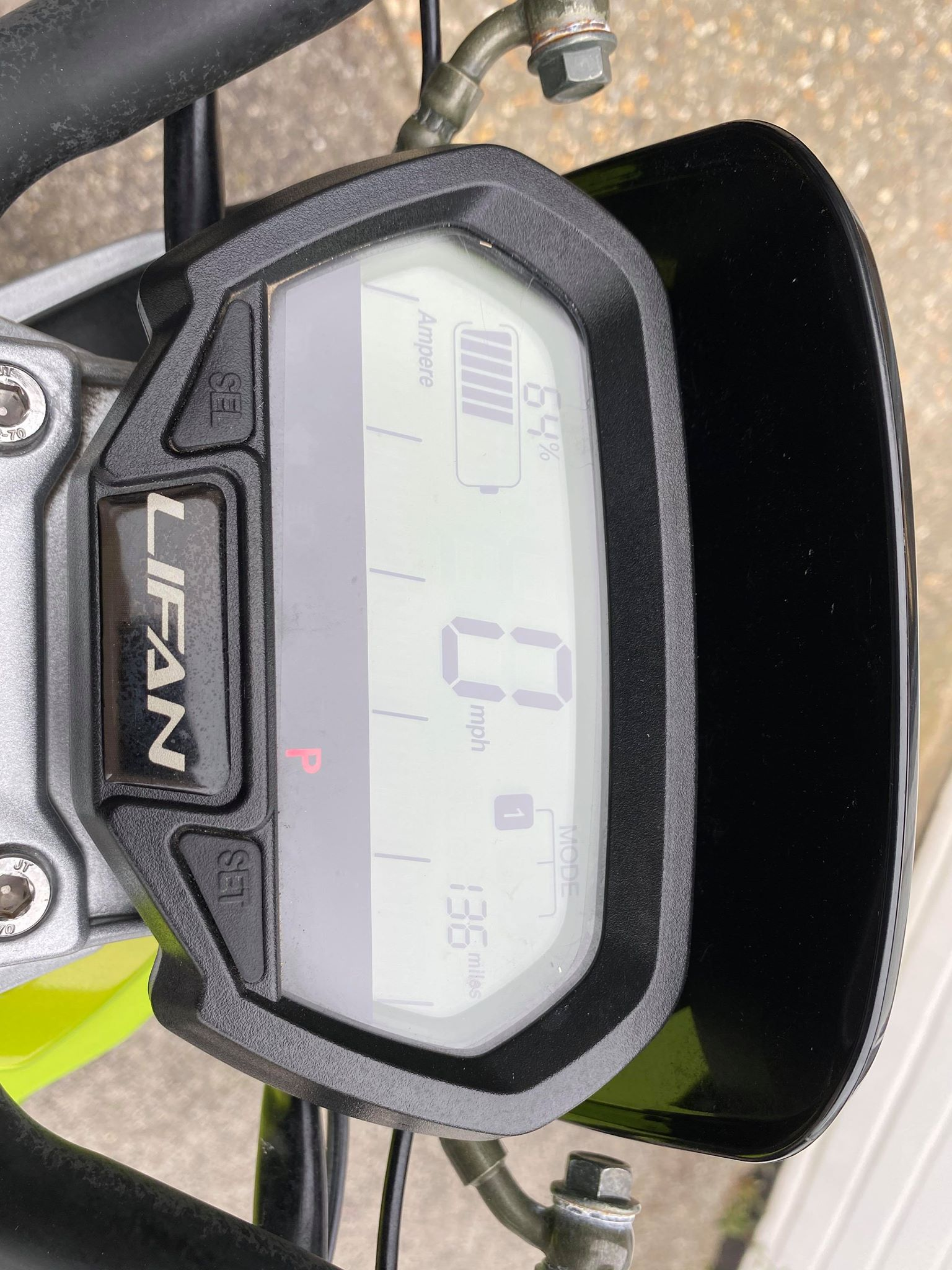 Lifan LF1200DT Electric Moped