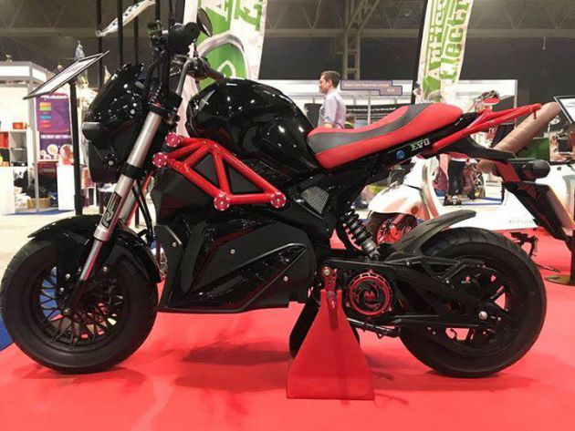 NEW Artisan EV03 72v 30ah Built in Lithium Battery Electric MotorBike