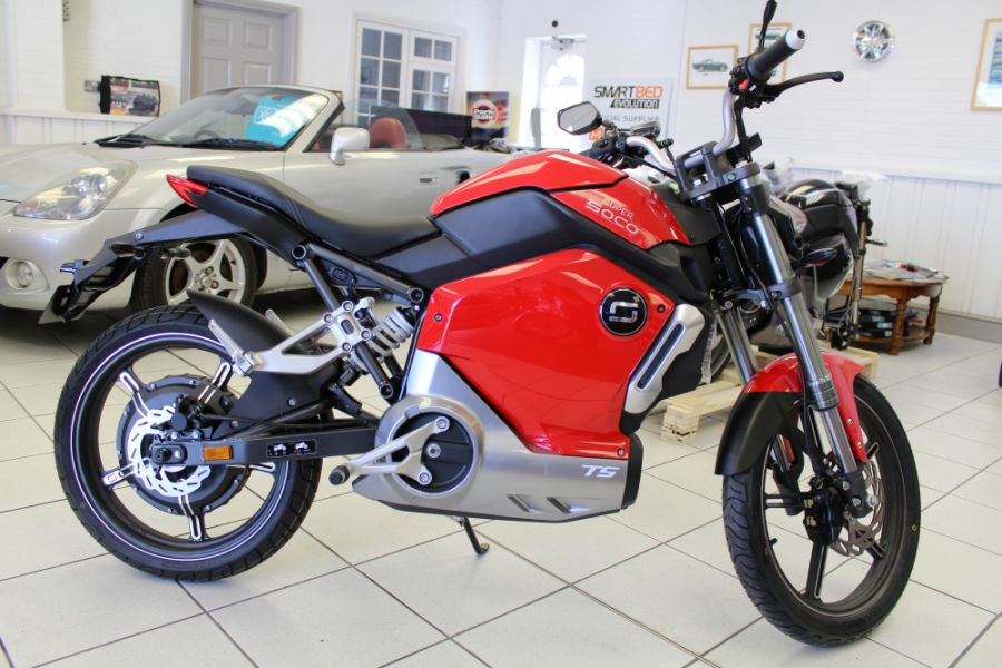 NEW Super Soco TS Electric Motorcycle - FREE DELIVERY WITHIN 100 MILES