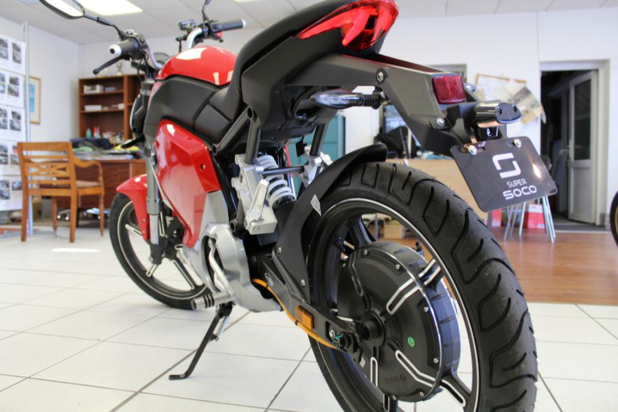 NEW Super Soco TS Electric Motorcycle