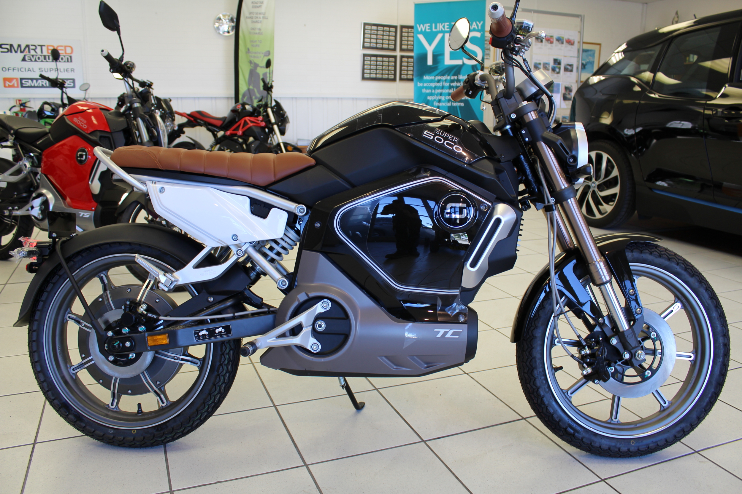 NEW Super Soco TC Electric Motorcycle - FREE DELIVERY WITHIN 100 MILES