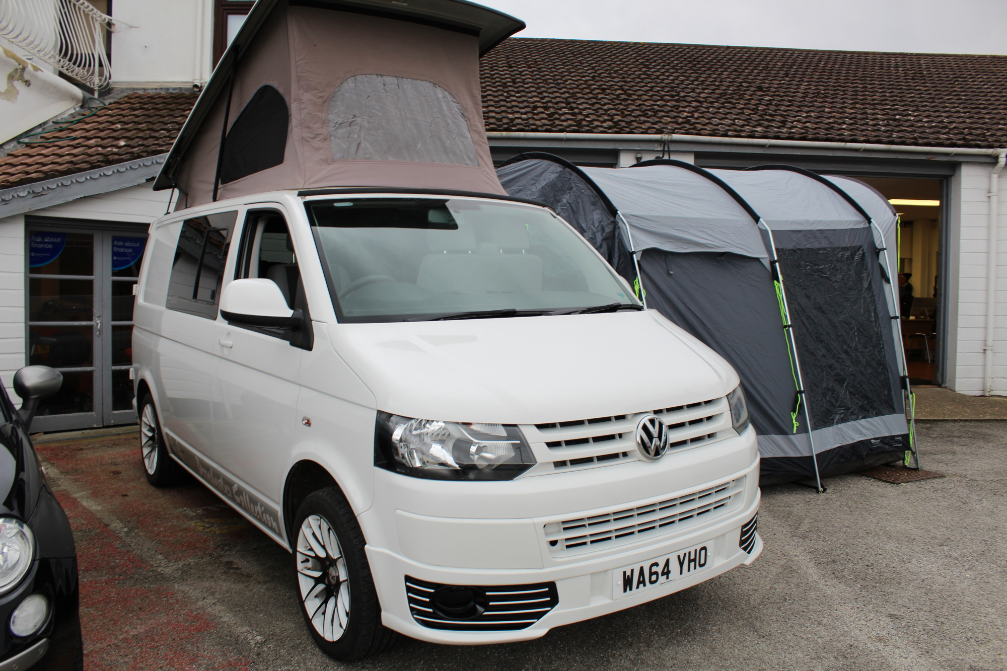 Volkswagen Transporter T5 4-Berth Campervan with awning